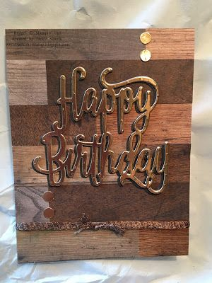 JackOtterStamp: Stamp Off Wood Textures Birthday