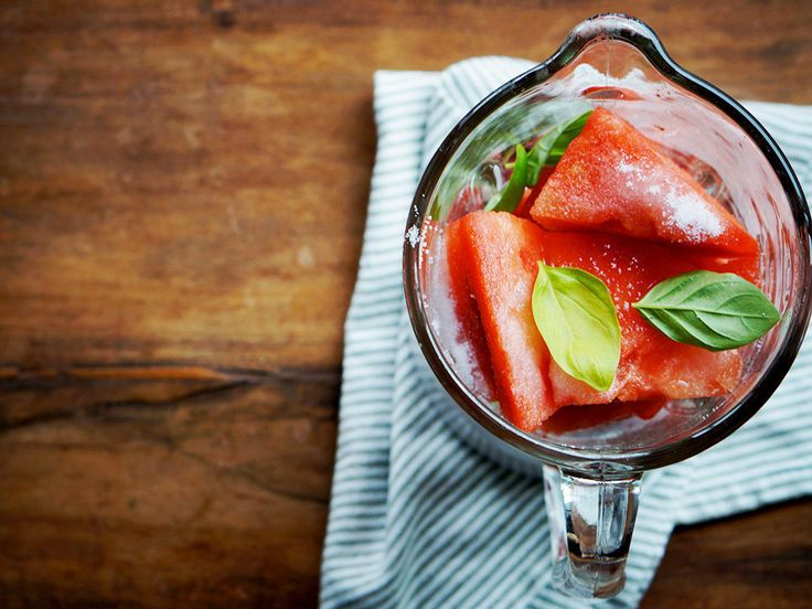 Gojee - Watermelon Basil Cooler by Foodess | Happy Hour w/o the bar ...