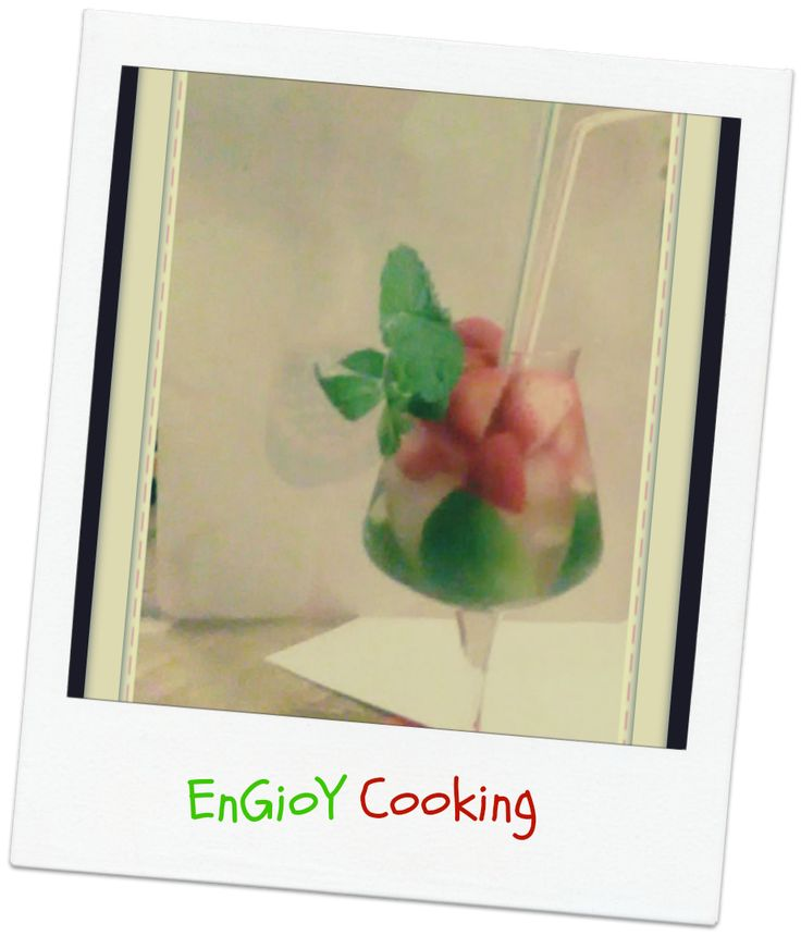 Mojito Italiano - Cocktail | EnGioY Cooking