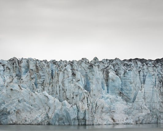 Andrea Hamilton, Luminous Icescapes, 2013-14