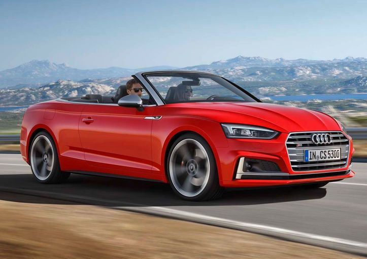 Audi A5 Cabriolet Looks Sharp Ahead of 2017 Launch - Motor Trend