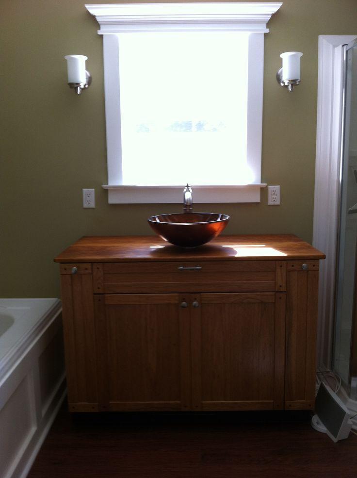 7 best craftsman style bathroom vanities images on - Mission style bathroom accessories ...