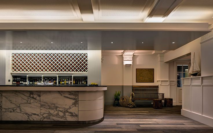 Watsons Bay Hotel Sunset Room - Interior design by Alexander and Co