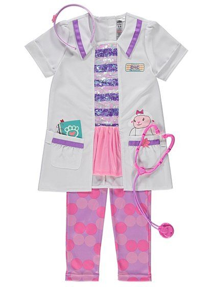 Disney Doc McStuffins Fancy Dress Costume, read reviews and buy online at George. Shop from our latest range in Kids. They'll be kitted out to fix their stuf...