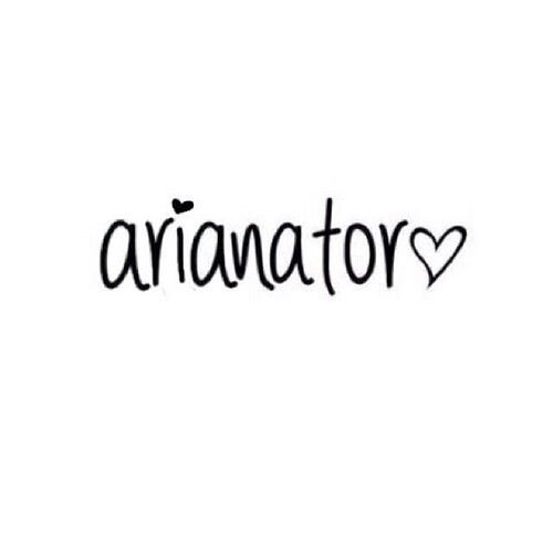 I am a proud Arianator <3 Repin if you are one too!