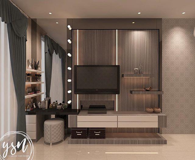 Master bedroom - tv set #interior #design #interiordesign #bedroom #tvsetdesign #masterbedroom #bedroomdesign #interiorconsultant #interiordesigner #jasainteriorsurabaya #jasadesain #jasadesaininterior #surabayainterior #interiorsurabaya #surabayadesign #designsurabaya #ysninteriordesigner #render #render_contest #instarender #vray #3dmax - Architecture and Home Decor - Bedroom - Bathroom - Kitchen And Living Room Interior Design Decorating Ideas - #architecture #design #interiordesign #diy…