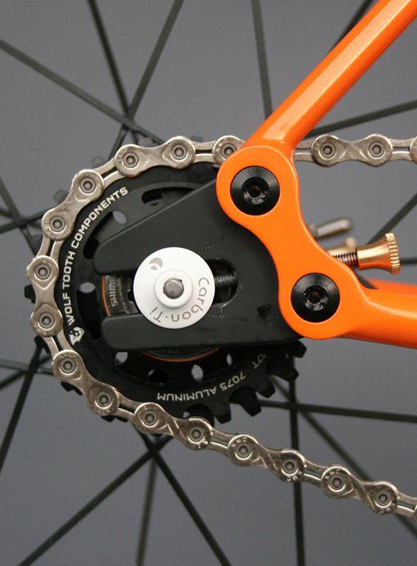 Casey singlespeed road bike