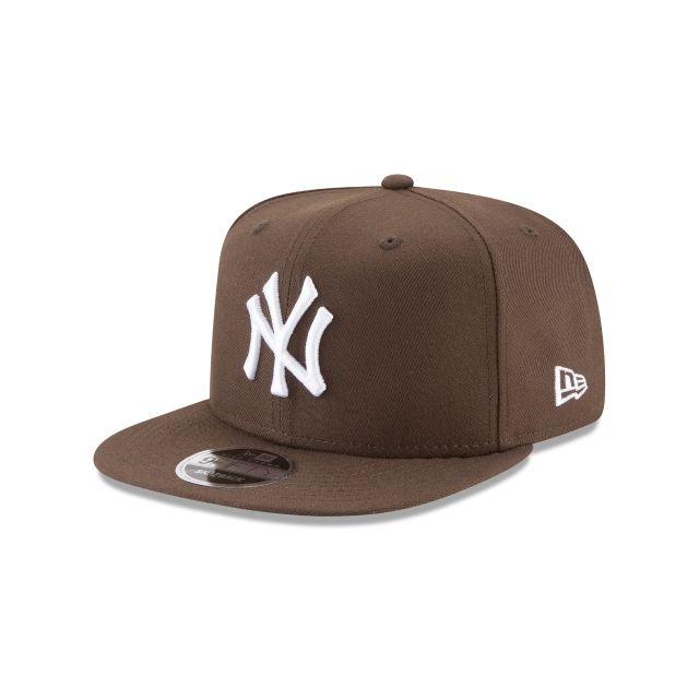 New York Yankees Walnut High Crown 9fifty Snapback Hats New Era Cap In 2021 New Era Cap Brown Yankees Hat Yankees Hat