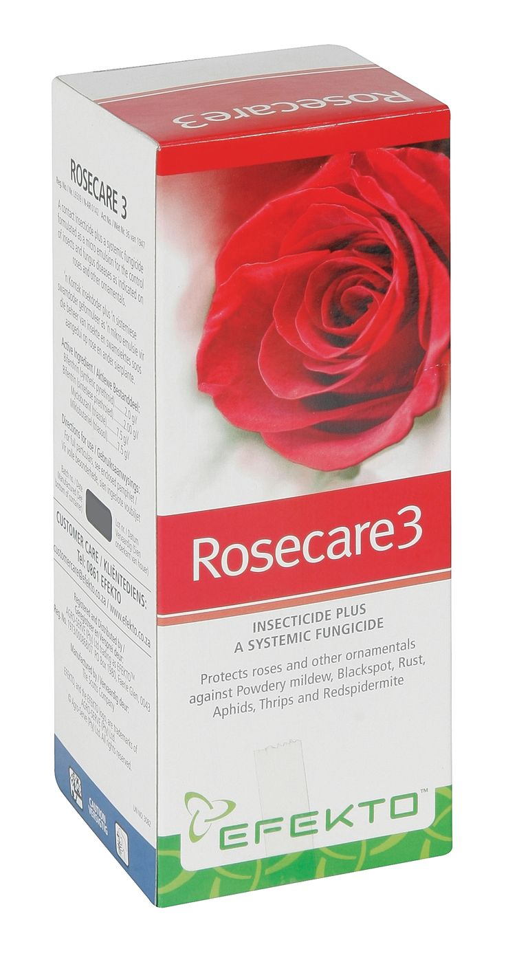 Efekto Rosecare - contact Insecticide and systemic Fungicide, all in 1 product for Roses and Ornamentals