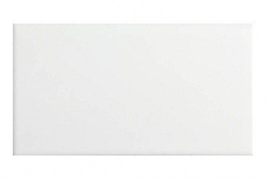 Metro Flat White Matt Wall Tiles 10x20cm - Tons of Tiles