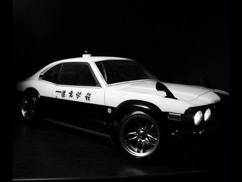 Drift promo Sakura D4 rwd. Mazda RX-3 Savanna body - YouTube