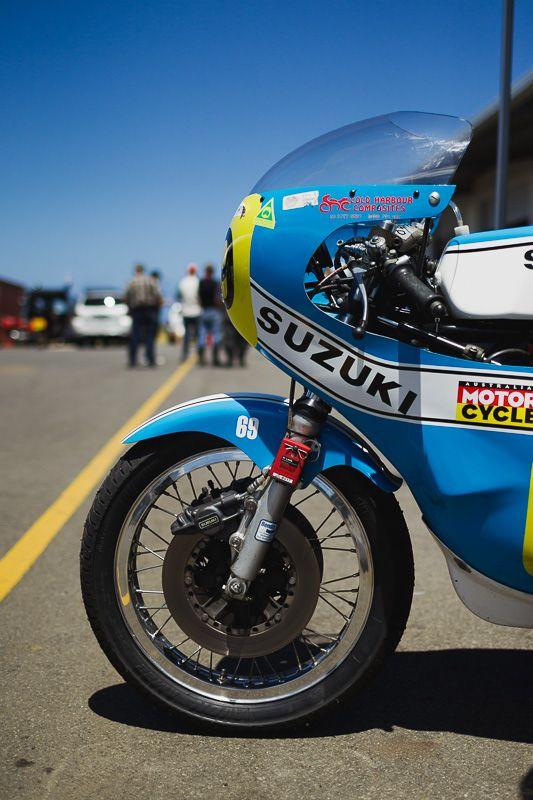 Old School Suzuki Racer