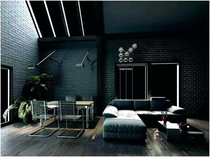 Living Room Decor Dark Wood Floor Elegant Dark Gray Porcelain Wood Tile Plete Floor Unique Inspiration W Desain Interior Interior Desain Interior Rumah