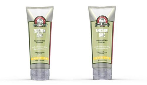 Brave Soldier Friction Zone Advanced Skin Protection, 2 Pack (2.5 oz)