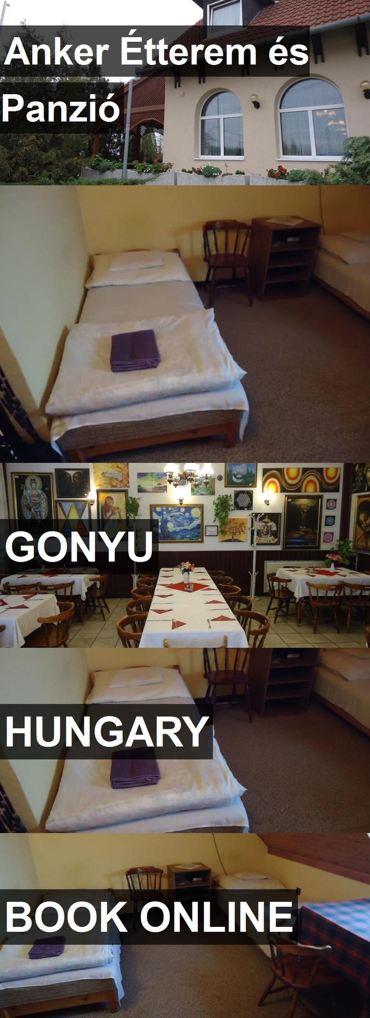 Hotel Anker Étterem és Panzió in Gonyu, Hungary. For more information, photos, reviews and best prices please follow the link. #Hungary #Gonyu #travel #vacation #hotel