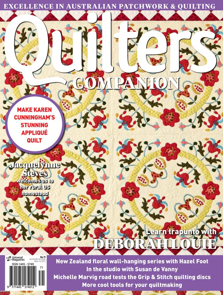 Quilters Companion #71 cover