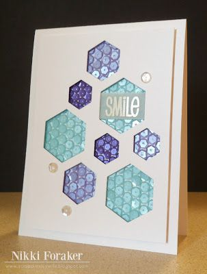 Scrappin' Navy Wife: Smile...sequins! :)