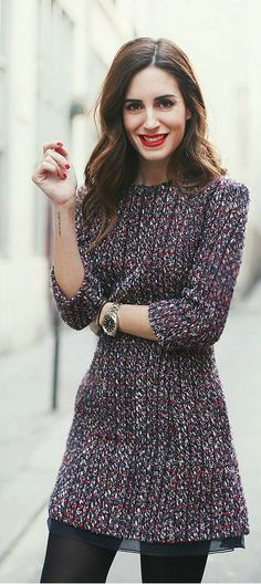 Classic Dior, Tweed Dress