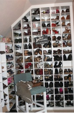 Lots of shoe storage!