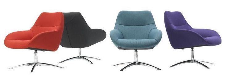 Lilly topform rikken dronten fauteuil stof modern