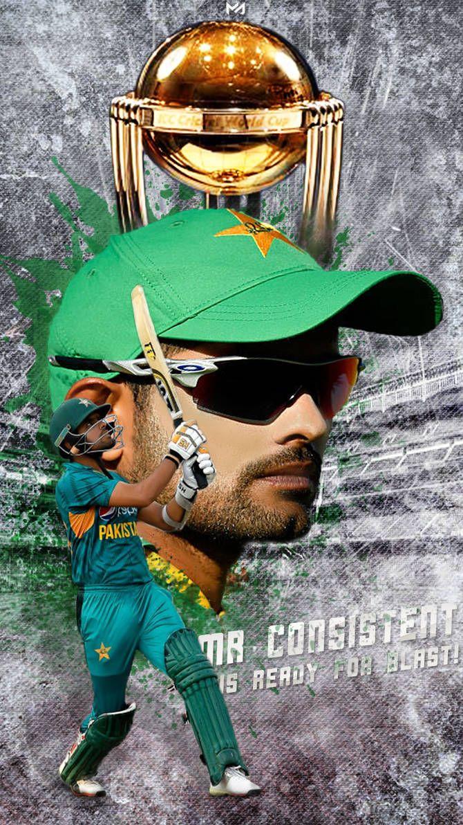 Babar Azam Mr Consistent By Mahmudgfx Cricket Wallpapers Pakistan Cricket Team Cricket Logo