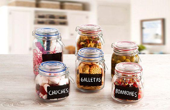 Organiza tu cocina con los tarros Colortonic
