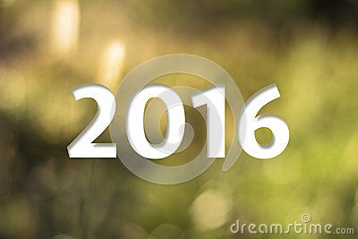 Happy New Year 2016. Party poster, greeting card, banner or invitation.