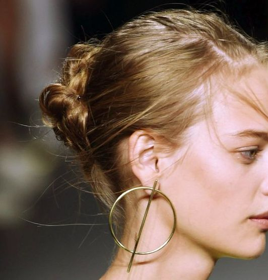 - nudezy: details @ rag & bone s/s 16 the earrings are also very nice