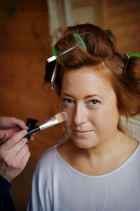Step by step make up lesson via Boho wedding blog Ivy Clara - Make Up, Nicola Thompson - Photography