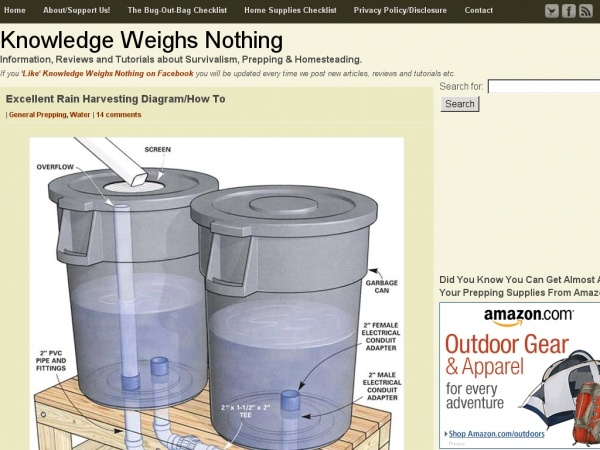 16 best preparedness images on pinterest sustainability for Build your own rain collection system