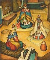 Alexis Preller (1911-1975) - Mapogga Women