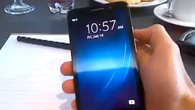 BlackBerry A10 'Aristo' video leak is a little something we picked up in 'Nam | BlackBerry's purported 5-inch, flagship BB10 smartphone may have turned up in the paws of a mystery man. Buying advice from the leading technology site