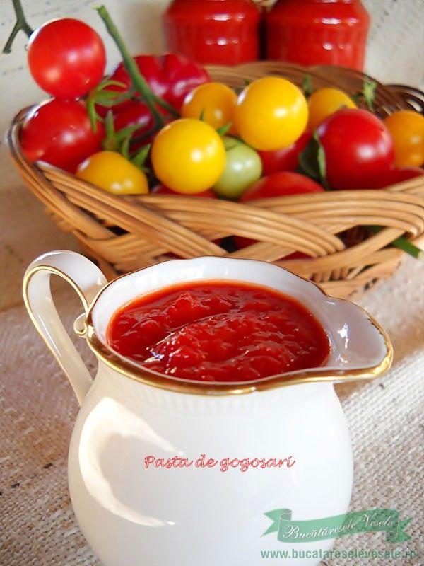 Pasta de Gogosari.Cum se prepara pasta de gogosari Reteta pasta de gogosari-conserva.