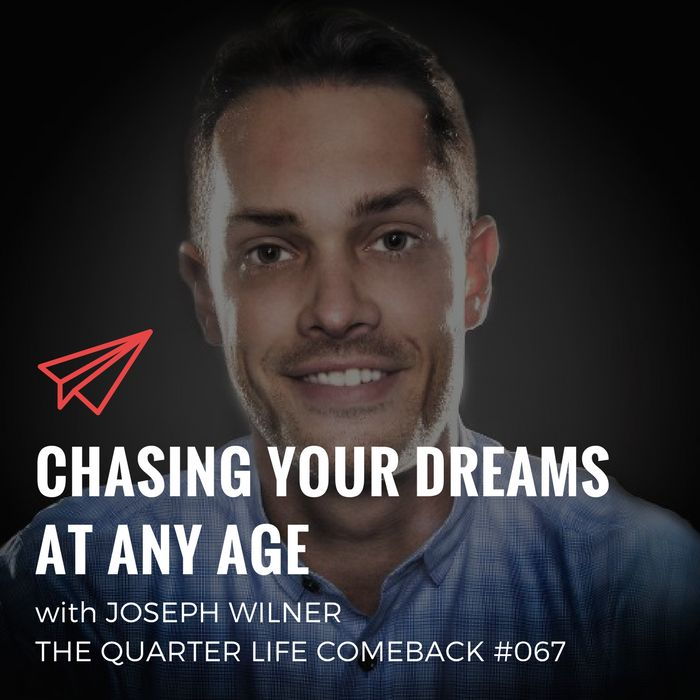 In this episode of The Quarter Life Comeback podcast, I chat to Joseph Wilner about how he chased his dreams and became a pro drummer at the age of 30.