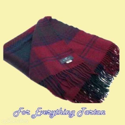 Lindsay Modern Clan Tartan Lambswool Blanket Throw By Jmb7339 150 00