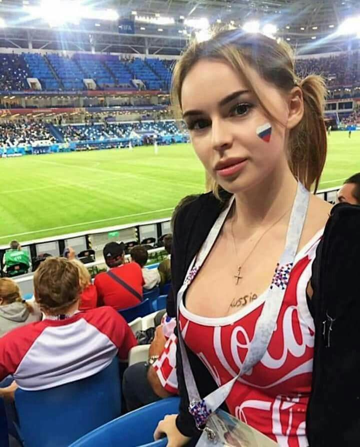 Hot And Beautiful Girls, Football Fans From Cute Gorls -5857