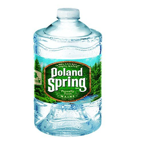 Poland Spring 100% Natural Spring Water, 101.4-ounce plastic jugs, 6 Count