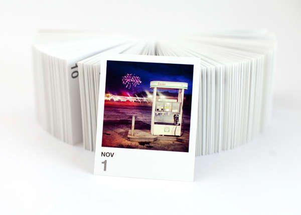 Printstagram Tear-Off Calendar #Instagram #Design