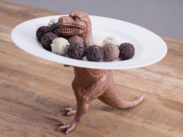 Tutoriel DIY: Fabriquer un présentoir à gâteaux dinosaure via DaWanda.com