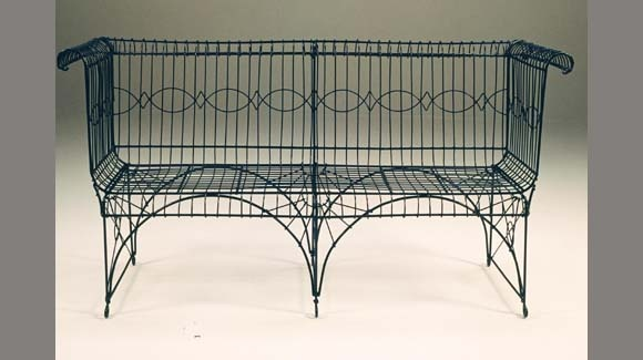 ... benches on Pinterest | Gardens, Outdoor benches and Metal frames
