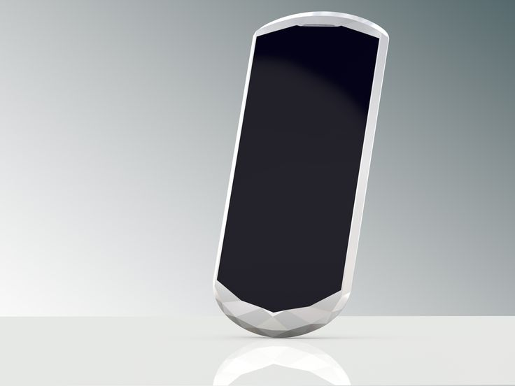 Vertu Crystal Smart Phone Design