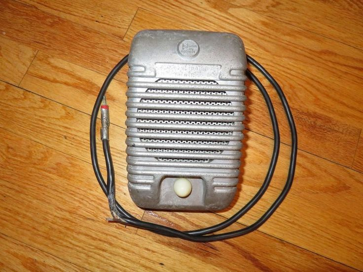 Vintage Drive in Movie Theater Die Cast Projected Sound Plainfield Ind Speaker