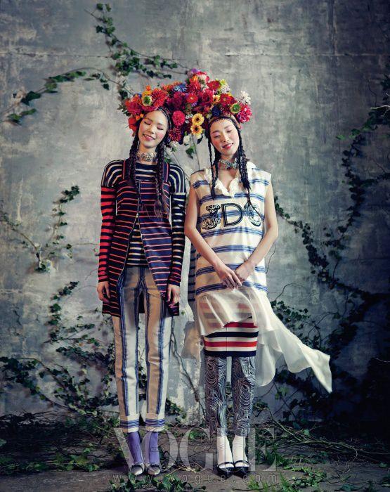 Ladies waiting for spring :: VOGUE KOREA 2013