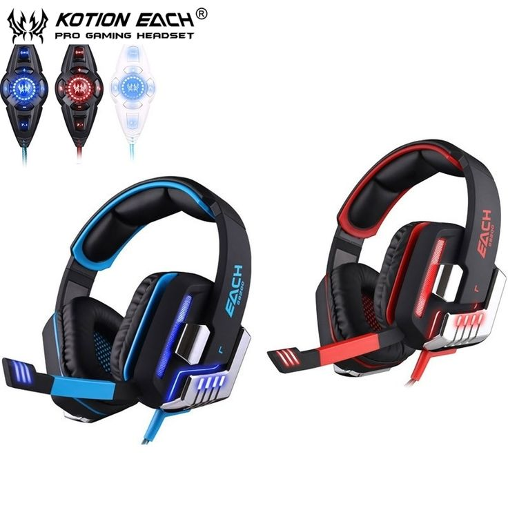 47.69$  Watch here - http://ali3hj.shopchina.info/go.php?t=32712494137 - EACH G8200 Gaming Headphone 7.1 Surround USB Vibration Game Headset Headband Earphone with Mic LED Light for Fone PC Gamer PS4  #magazine
