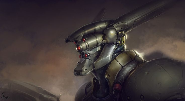 Briareos Hecatonchires from the Appleseed saga by Grrrod