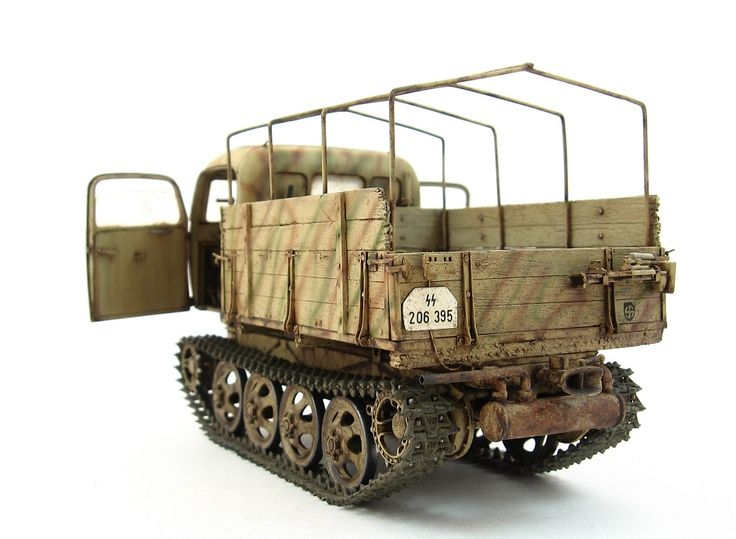 plastic model Steyr Raupenschlepper Ost /01 (RSO/01) + PaK 40 by Patterson