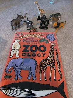 Zoo-Ology by Joelle Jolivet. A great book for a trip to the zoo and a fun sorting activity to go with it.