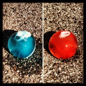 We took this original pin from Pinterest... And turned it into.... Expressing Feelings Through Frozen Water Balloons The client selects a feeling that each frozen water balloon represents after the...