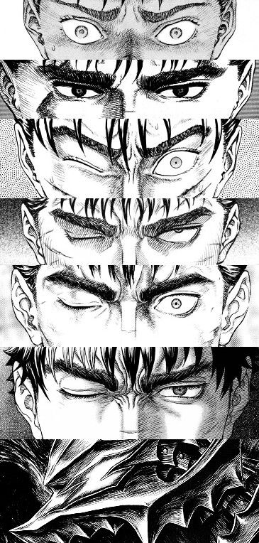 Guts' evolution                                                                                                                                                      More