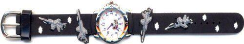 Ricci B Jet Fighter Kids Watch, Light Blue. Color: Light Blue. Dimension: 0.25 H x 0.75 W x 8 L. Weight: 0.5 oz. Package Quantity: 1. Excellent Quality.